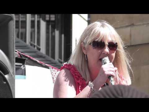 Liz Kershaw  BBC 6 Music Protest 22 May 2010