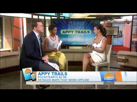 Pocket Earth on NBC's The TODAY Show - Appy Trails