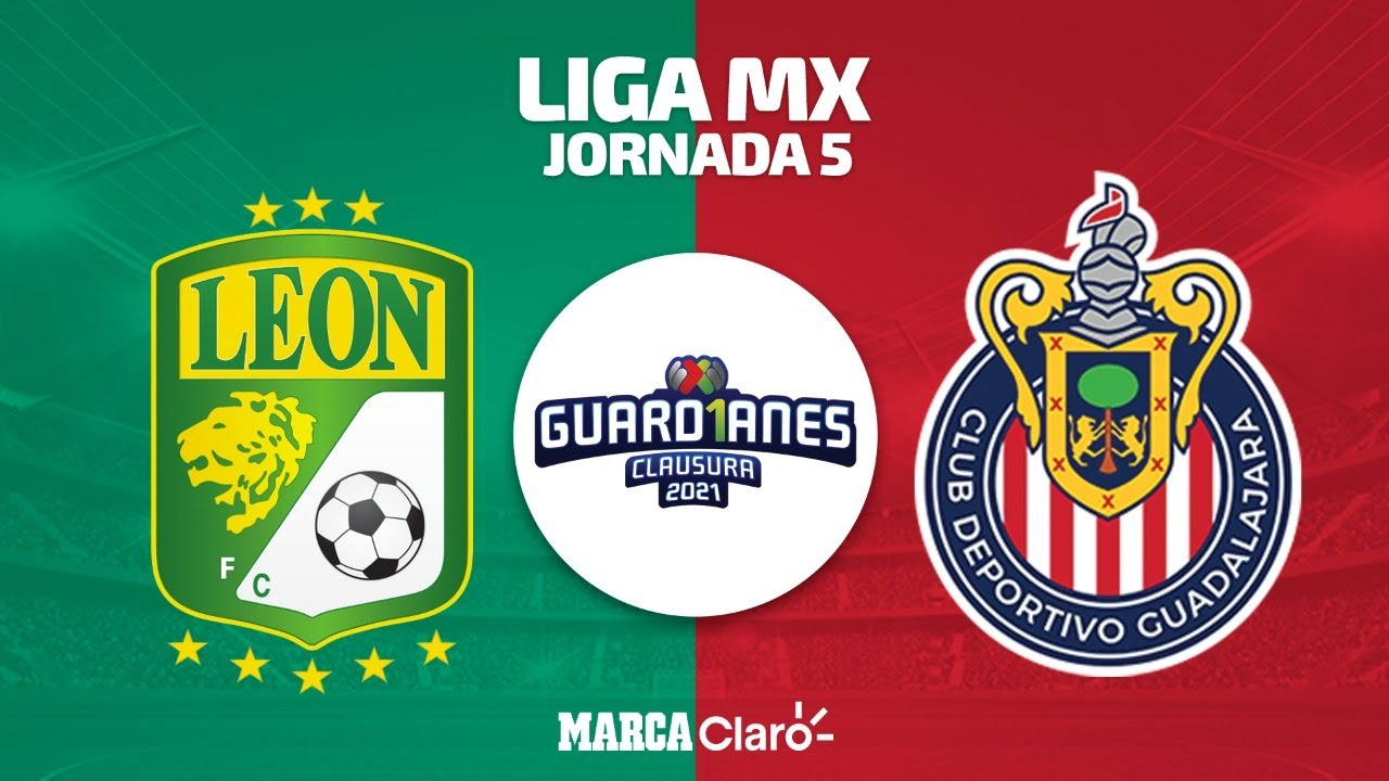León [0-2] Chivas | Juego Completo | Liga MX | Clausura 2021 | Jornada 5 - download from YouTube for free
