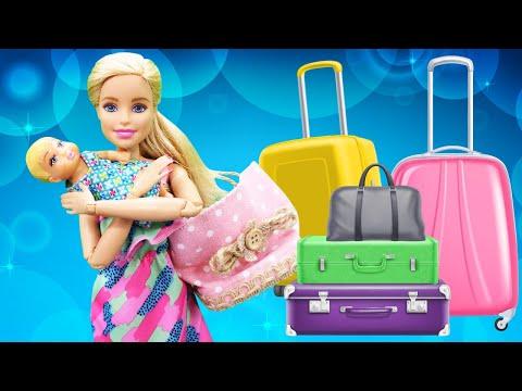 Barbie Ile Kız Videoları. Çanta Hazırlama Oyunları