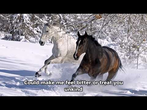 Wild Horses - Susan Boyle - Lyrics - (HD scenic) Mp3