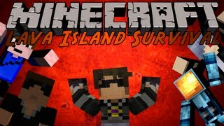 Minecraft : Lava Island Survival 1 /w Friends!