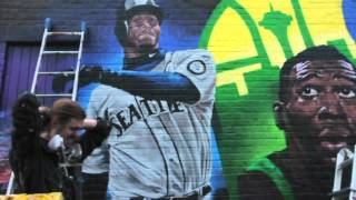 ArtPrimo.com Presents:  Weirdo and Joey Nix Spray Paint Mural on the Iron Bull Seattle
