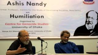 CGS Public Lecture on Humiliation