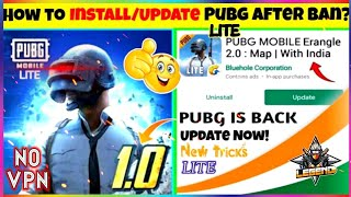 🥳No VPN & No Ban | How To Download OR Update PUBG  #PubgBack😤💖