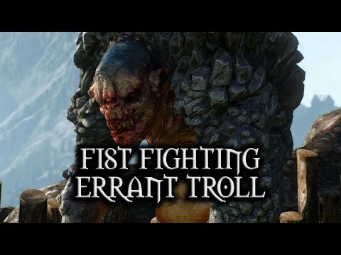 The Witcher 3: Velen Side Quest - 'Harassing a Troll' Easter