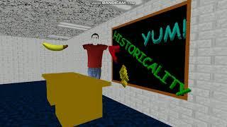 Сообщение разработчика из игры Baldi's basics in Education and Learning