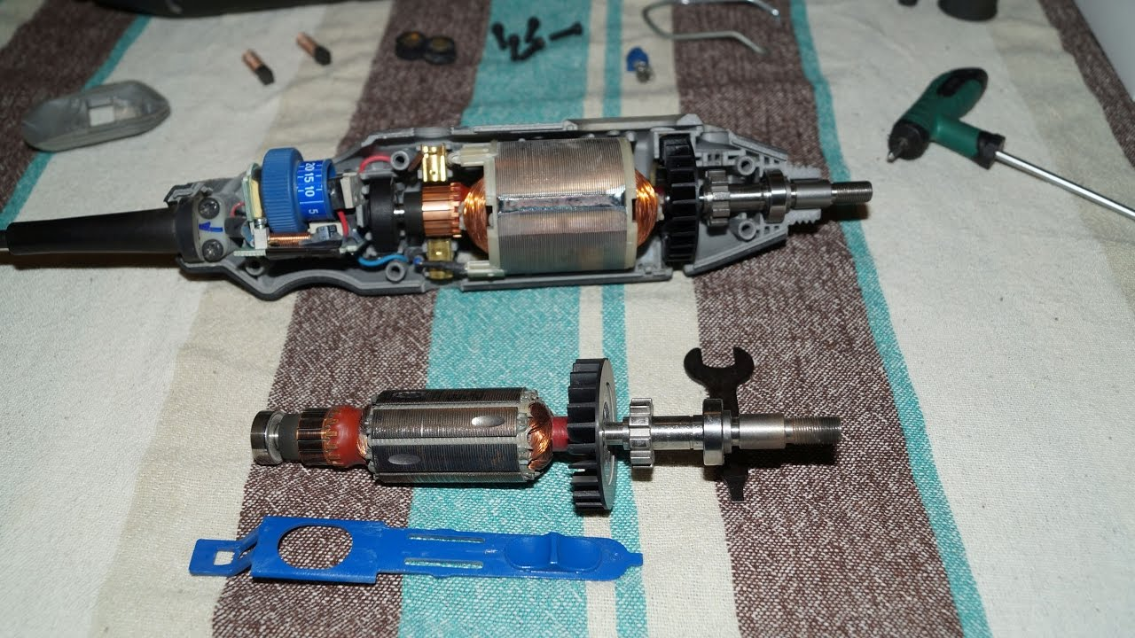 hight resolution of dremel 4000 rotor replacement