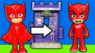 PJ Masks enters Scooby's Tower of Terror Splash Time