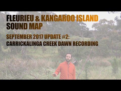 Fleurieu Sound Map Road Trip #2: Carrickalinga Creek (dawn recording)