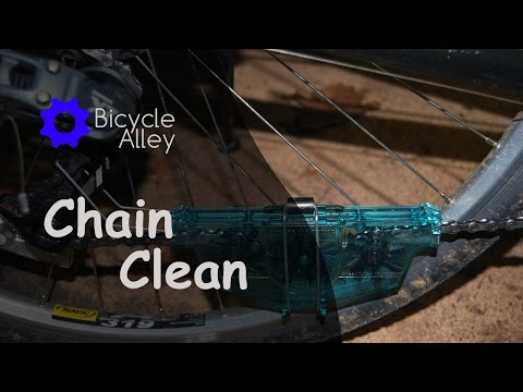 White Lightning Bicycle Chain Cleaner - How To Clean And Lubricate A Bicycle Chain