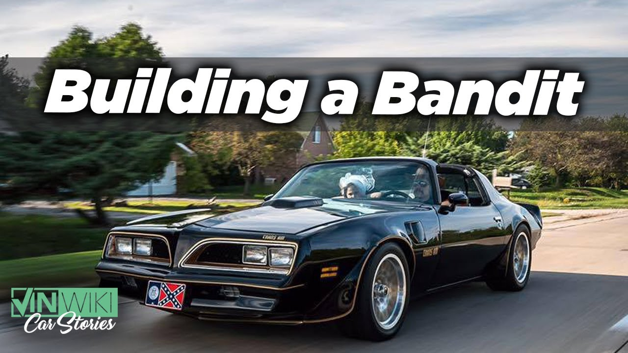 I built a pro-touring Bandit Trans Am just to show up at a party, This guy is super cool.
