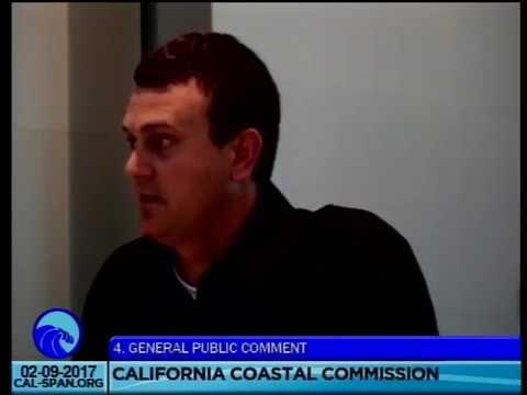 California Coastal Commission Non-Agenda Item comments Winter 2017
