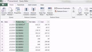 Excel 2013 Power Query #02: Transform Data and Import Into PowerPivot or Excel Table