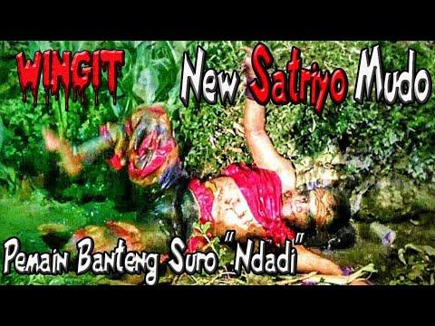 Pemain Bantengan Ndadi Mandi di Kali--Jaranan New Satriyo Mudo Live Bendungan Tanjunganom