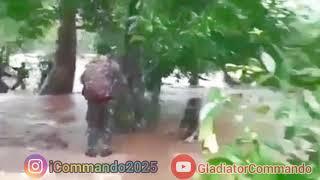 CoBRA Commando || Caught in Flash Flood during Jungle Operation