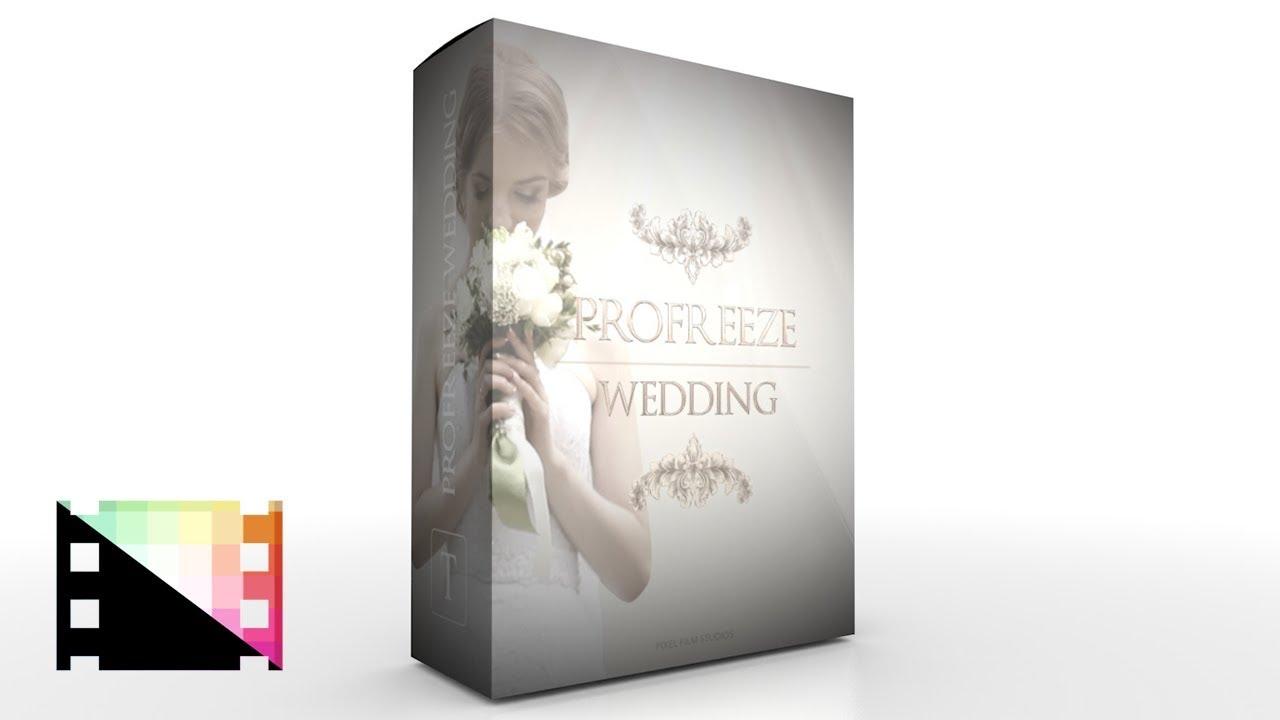 ProFreeze Wedding - Freeze Frame Effects for Final Cut Pro X - Pixel ...