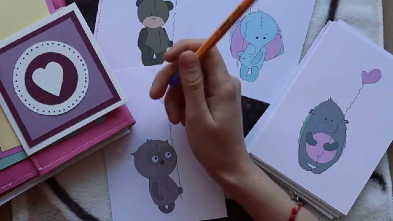 Картинка днем, открытка своими руками посткроссинг