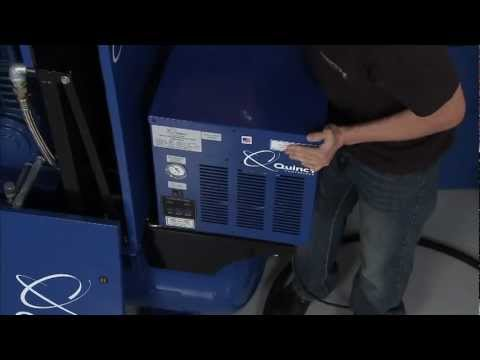 The Quincy Q MOD Desiccant Dryer on SPEED Channel's Truck U