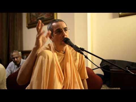 Niranjana Swami - Importance of chanting Hare Krishna - Sunday Lecture - 12/19/2010