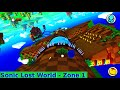 Sonic Lost World HD, Subs | Zone 1 Windy Hill - It's Relaxing Up Here