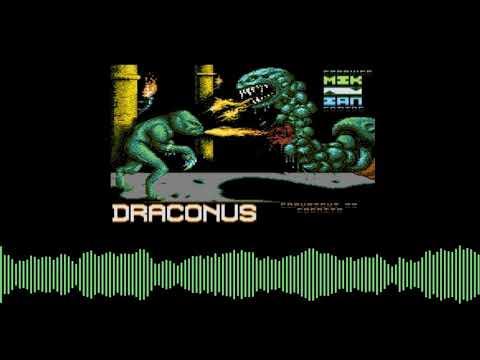 Draconus - intro de computadoras Atari 8 bits