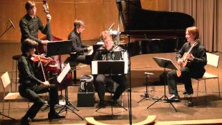 NOVJARO Quintet plays Milonga del Angel by A. Piazzolla (2011)
