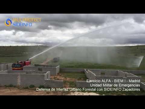 Sistema de Defensa contra Incendios Forestales SIDEINFO (portátil)