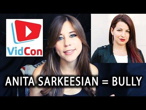 Anita Sarkeesian: A Jerk To Boogie2988, Not a Victim #VidconUS #GarbageGate #GarbageHuman