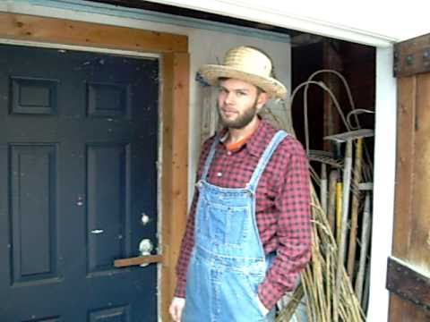 Farmer Paul S Walk In Cooler Youtube