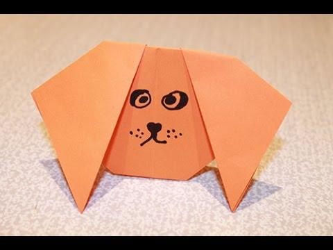 Поделки своими руками собака из бумаги