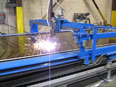 Cnc Plasma Table Using Mach3 And Majestic Ac Servos Youtube