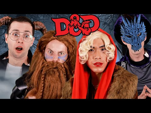 The Try Guys Try Dungeons And Dragons