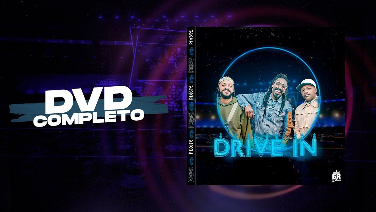 DVD Pixote Drive-In - Ao Vivo no Allianz Parque   COMPLETO