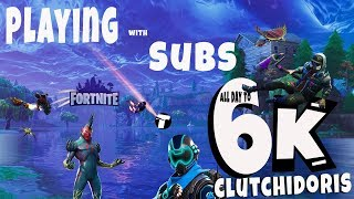 PLAYING WITH SUBSCRIBERS! / OPEN LOBBY / FORTNITE LIVE! / XBOX ONE X / TOP PLAYER / 800+ WINS
