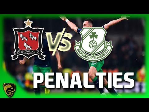 Dundalk Vs Shamrock Rovers  Full Penalty Shootout ( 2-4 )