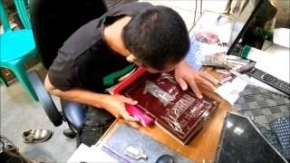 HD. Cara Membuat Prasasti (How to Make Inscription)