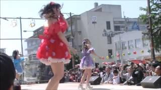 2016年5月4日丸亀お城まつり きみともキャンディ 動画№2.