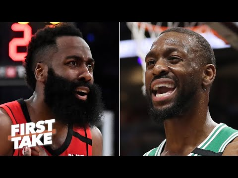 Kemba Walker vs. James Harden: Who has a better shot at making the NBA Finals? | First Take