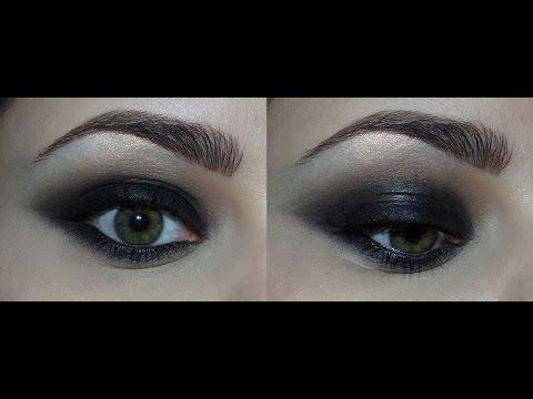 Чёрный Smokey Eye / Классический смоки