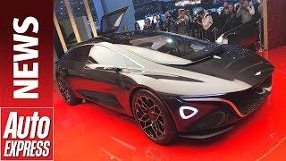 Фото с обложки Lagonda Vision Concept Launches Aston Martin'S New Eco Brand At Geneva 2018