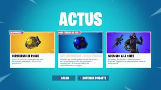 FORTNITE ACTUS - Fortnite Shop from September 19, 2018 with the return of the Raven Skin!