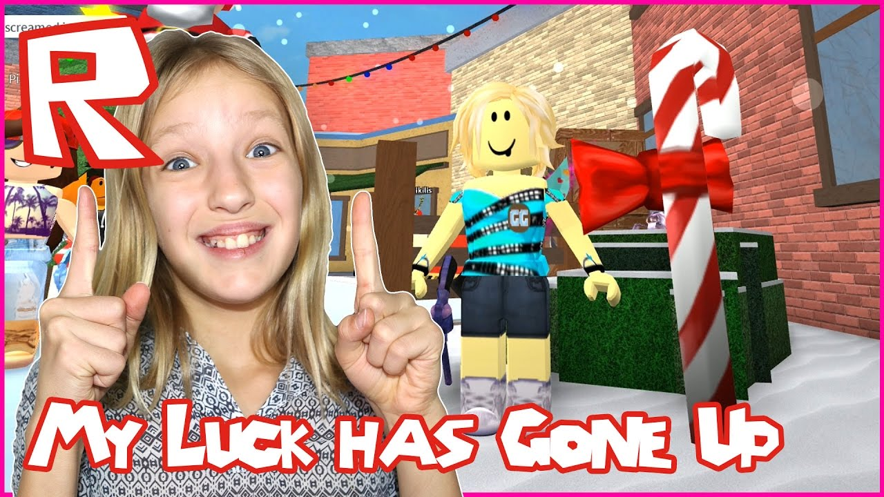 Ronaldomg Roblox Murderer Mystery 2 With Karina My Luck Has Gone Up Roblox Murder Mystery 2 Youtube