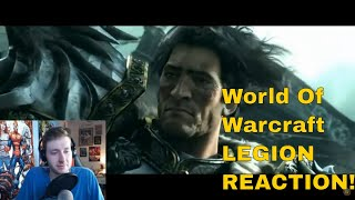 World of Warcraft Legion Cinematic Trailer Reaction !!