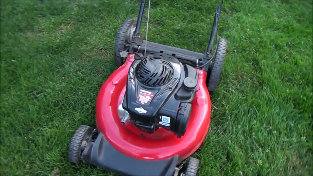 How To Fix A Newer Yard Machines Lawnmower That Won T Start Or Run After Storage Youtube