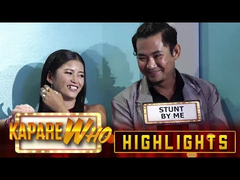 Palengqueen chooses Stunt By Me as her KapareWho! | It's Showtime KapareWho