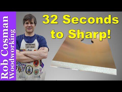 Sharpening A Plane Blade 2020