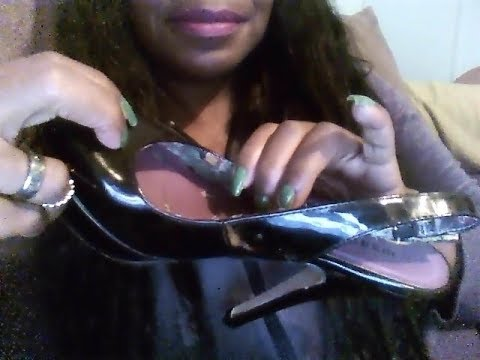 ASMR SHOE COLLECTION (FABRIC SOUNDS,TAPPING,SOFT WHISPERS FOR SLEEP)