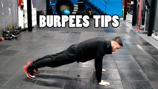 BURPEES TIPS