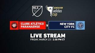 Atletico Paranaense vs New York City FC - Champions Divisio…